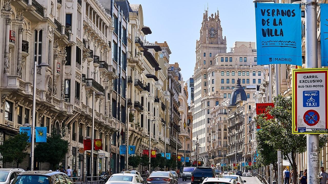 Viruksen leviäminen lieventynyt Madridissa