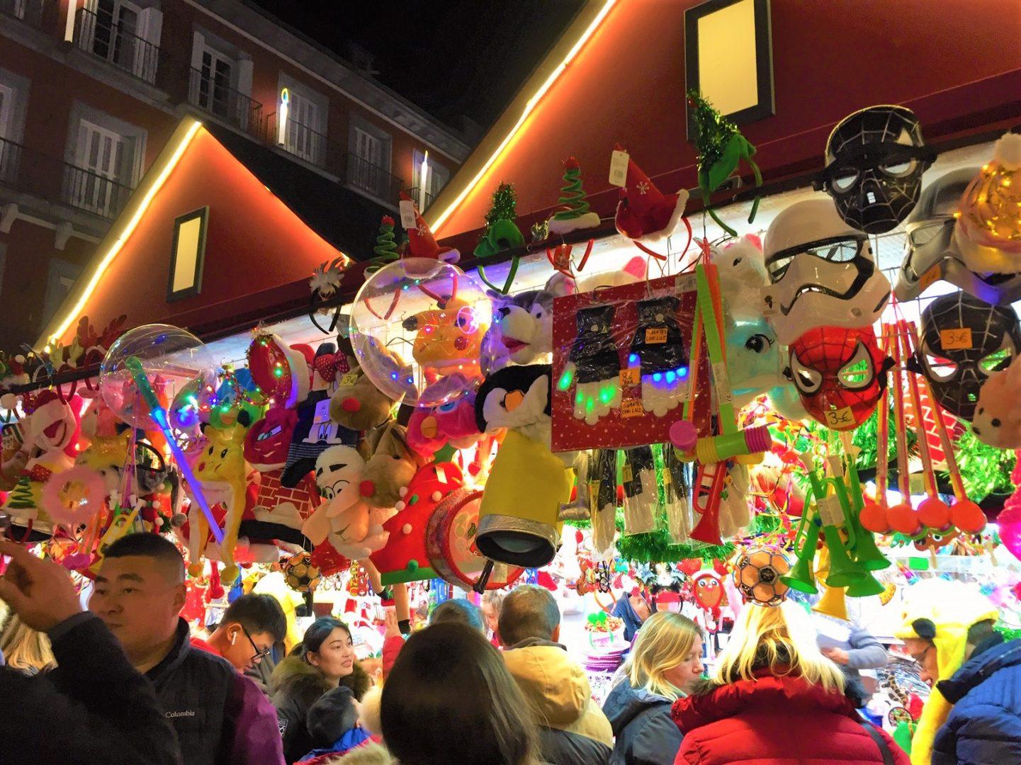Parhaat joulumarkkinat Espanjassa