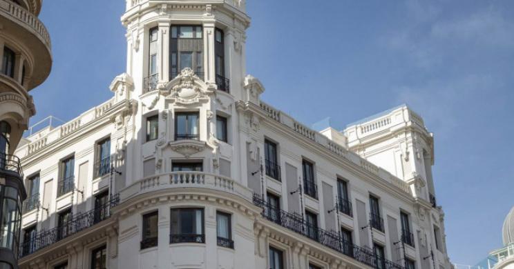 Cristiano Ronaldon uusi hotelli avasi ovensa Madridissa